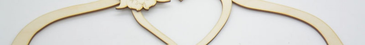 Ξύλινες Κρεμάστρες με το όνομα του μωρού